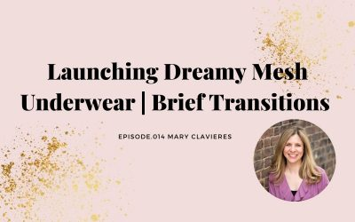 LAUNCHING DREAMY MESH UNDERWEAR BRIEF TRANSITIONS | MARY CLAVIERES