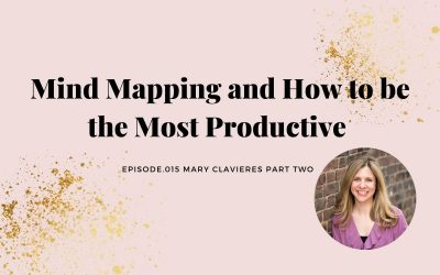 MIND MAPPING AND HOW TO BE THE MOST PRODUCTIVE | MARY CLAVIERES PART 2