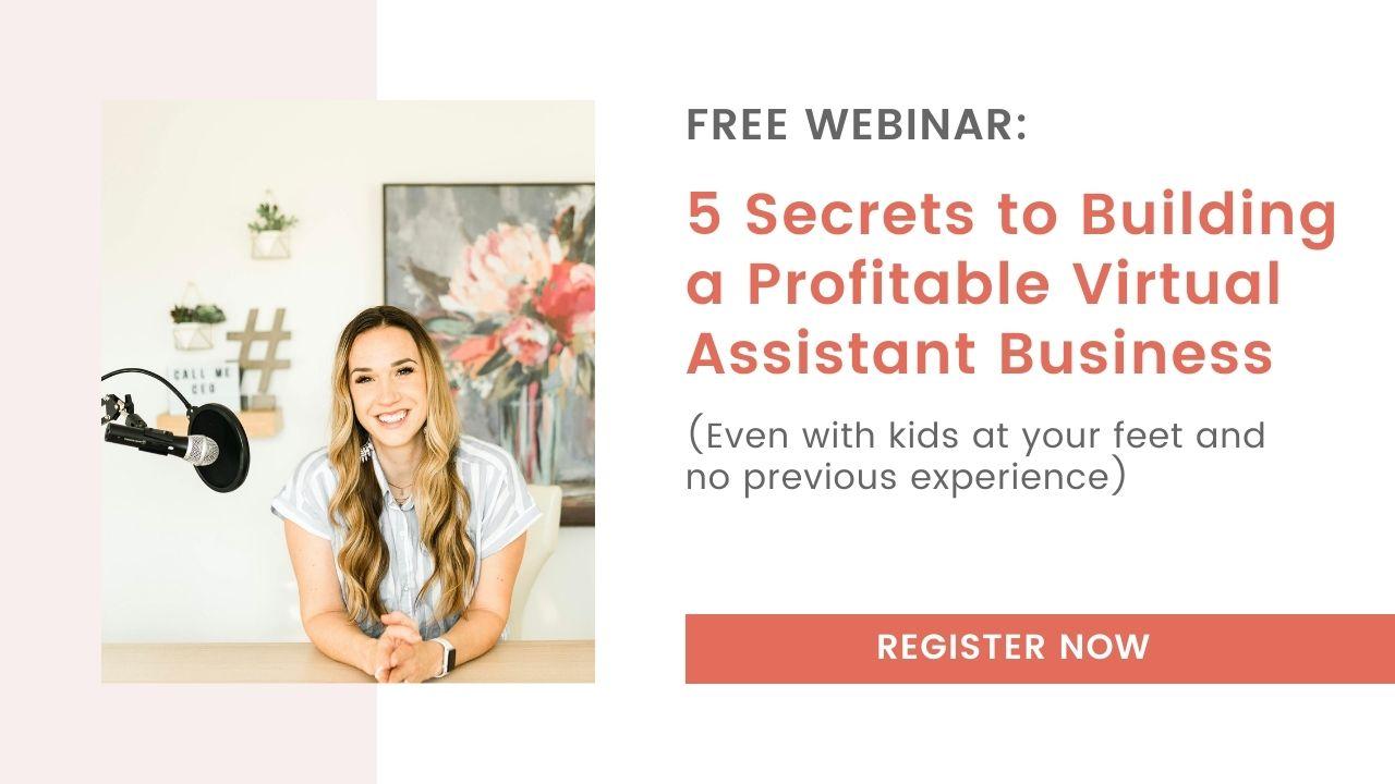 5 Secrets to Building a Profitable Virtual Assistant Business