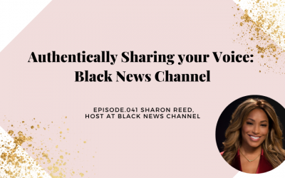 AUTHENTICALLY SHARING YOUR VOICE: BLACK NEWS CHANNEL   SHARON REED