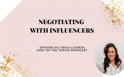 NEGOTIATING WITH INFLUENCERS   ERICA LIGENZA